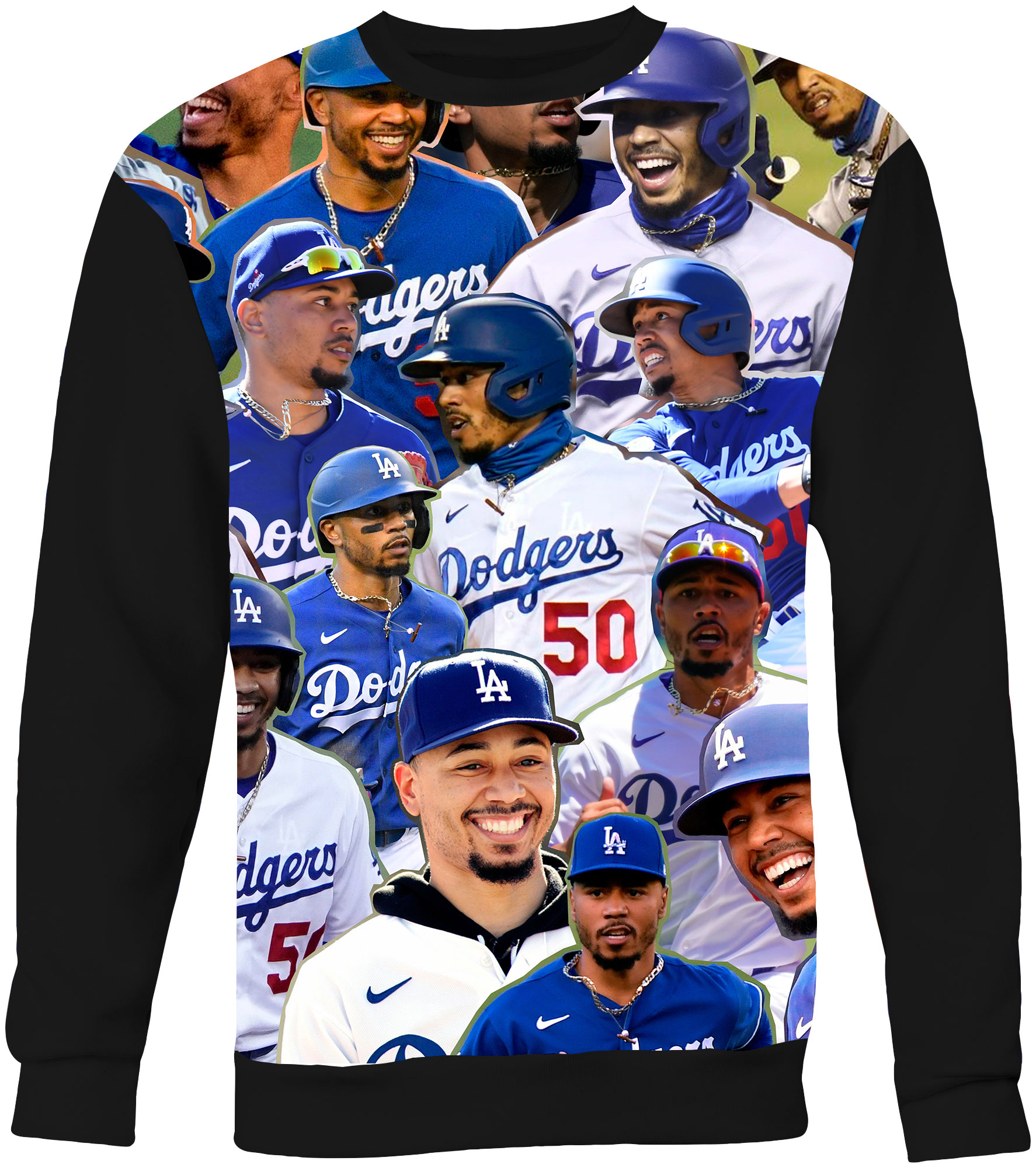 Mookie Betts Collage T-Shirt