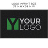 Carpet Logo Mat 3ft X 5ft | Indoor - High Traffic