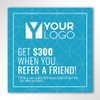 "Resident Referral Stickers - 5.5"" X 5.5"""