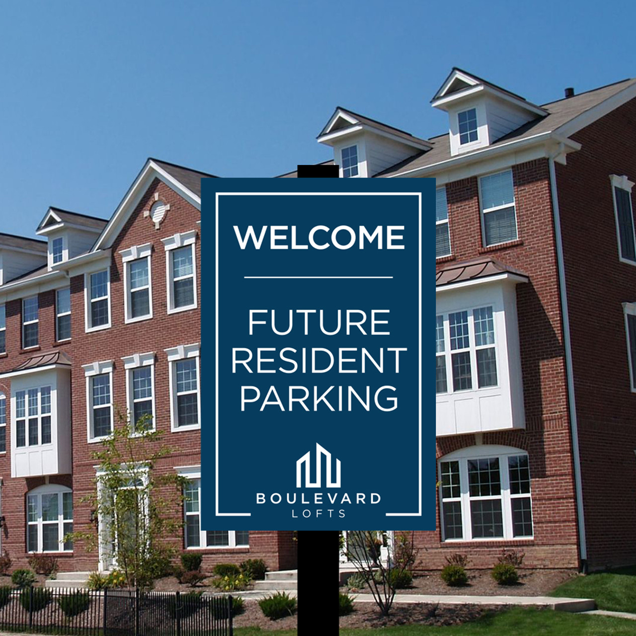 Future Resident Parking- Fully Custom 12in X 18in