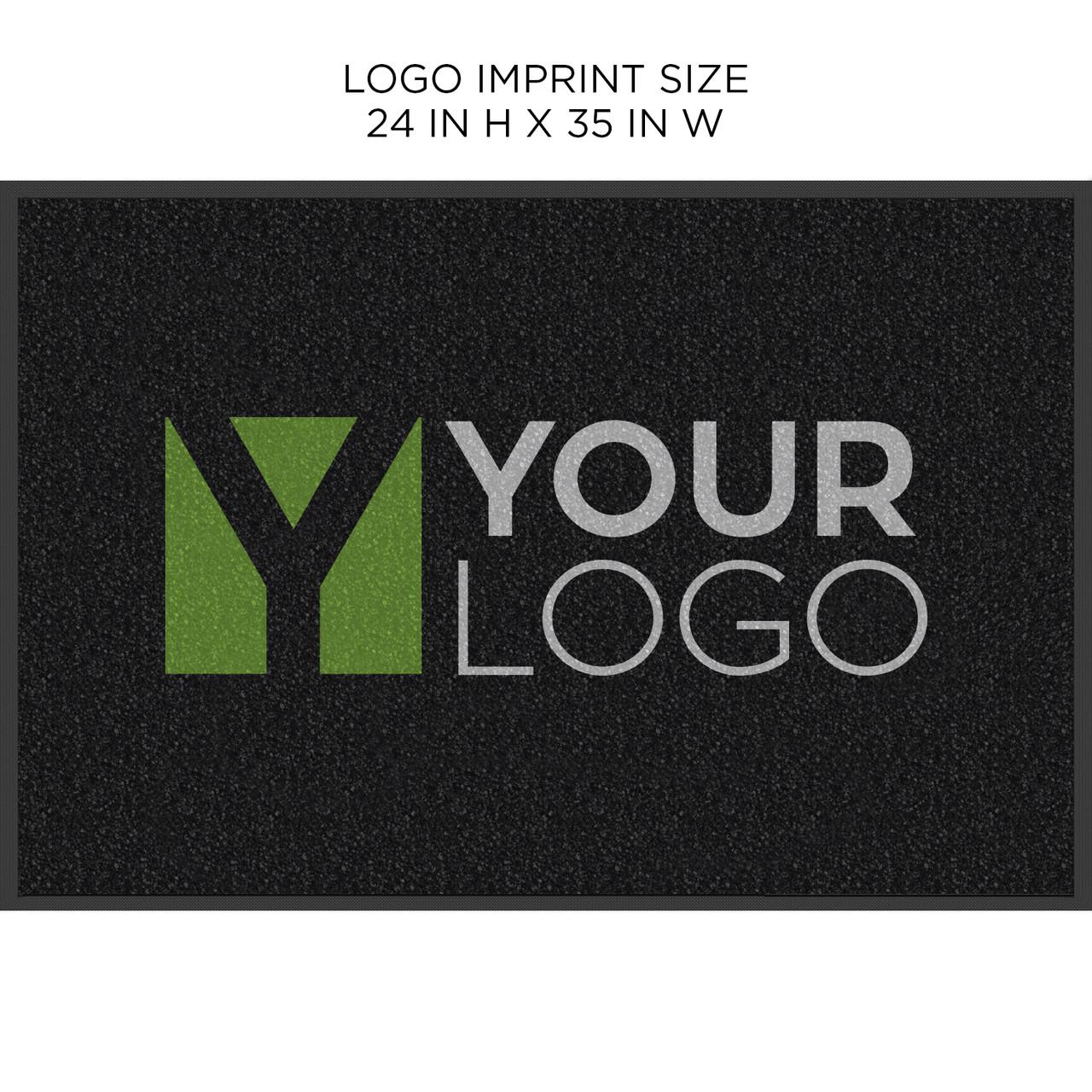 Carpet Logo Mat 2ft H X 3ft W | Indoor - High Traffic