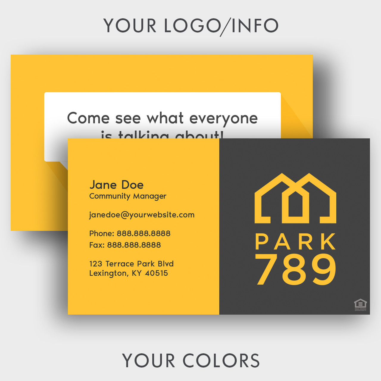 Business Cards- Social