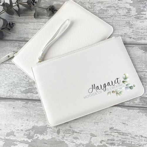 Mother of the Groom bridal clutch bag purse wedding gift