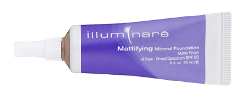 Mattifying Mineral Foundation