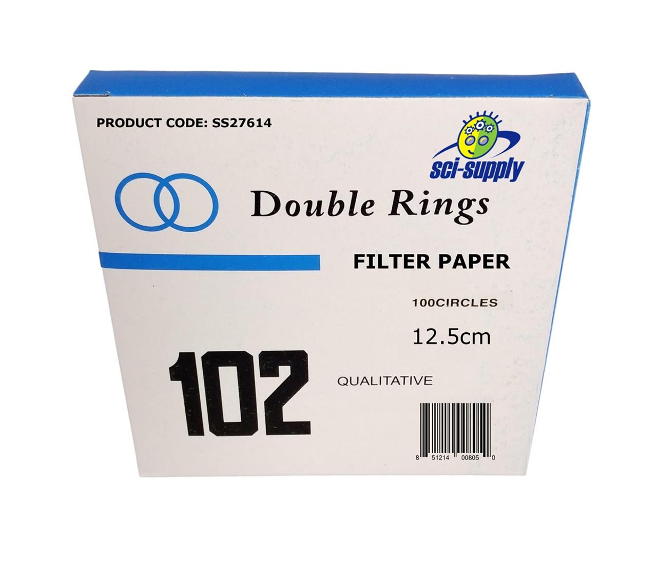 102 Qualitative Filter Paper 12.5 cm