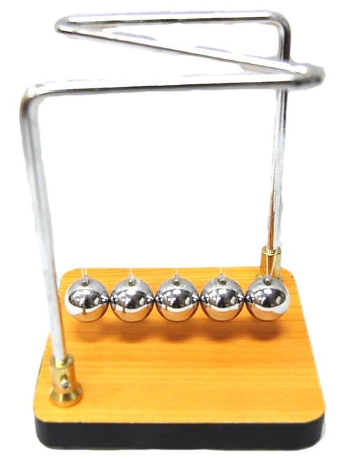 Newtons Cradle, Small Collision Balls Demo