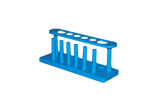 Bulk Test Tube Racks, Polypropylene Plastic, 6 Tube, Case of 216