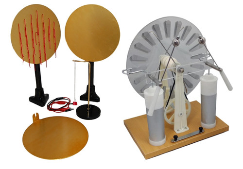 Wimshurst Machine w/ Electrostatics Experiment Set