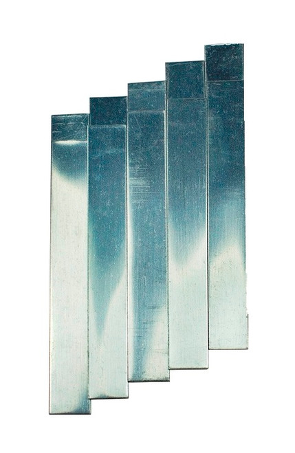 Electrode, Zinc, Plain, Pack of 5