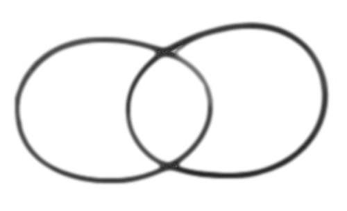 Replacement Belt Set (2) for Vanguard II Wimshurst Machine