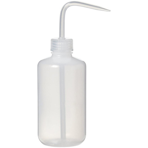 Economy Plastic Wash Bottle, 250ml 8oz.