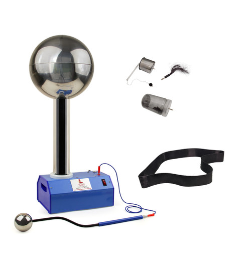 Lethan Corporation Van De Graaff Generator with Accessory Set and Spare Belt