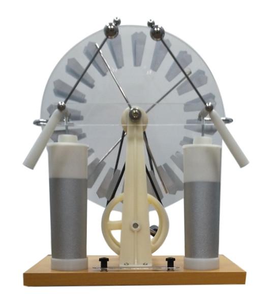 Jumbo Wimshurst Machine, Vanguard II Model