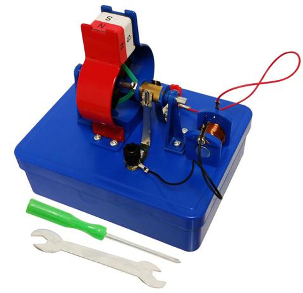 Miniature DC Motor Student Kit. Construct a DC motor and learn about motor operation.