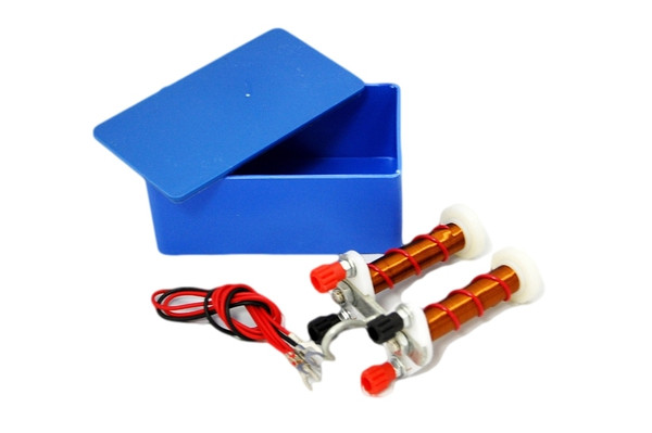 Electromagnet, Student Size with Connecting Wires and Storage Box