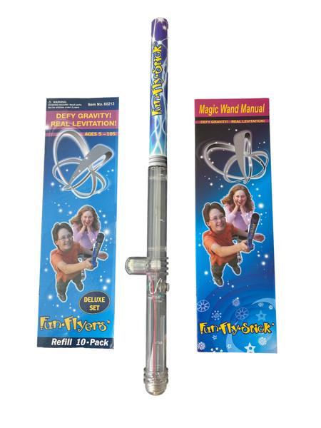 Fun Fly Stick Van De Graaff Improved Clear V3 Version