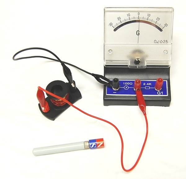 Faraday's Magnetic Field Induction Experiment Kit