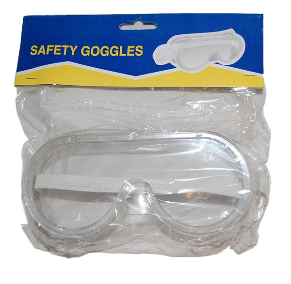 Safety Goggles, Vented General Purpose Science Lab Goggles