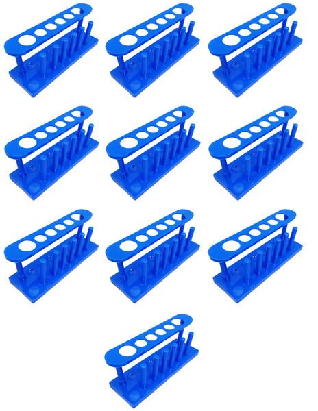 Bulk Plastic Test Tube Racks