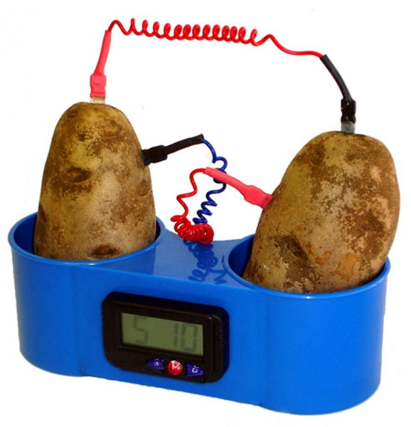 Potato or Fruit Clock