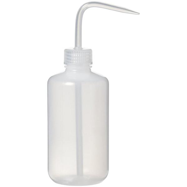 Economy Plastic Wash Bottle, 250ml 8oz.