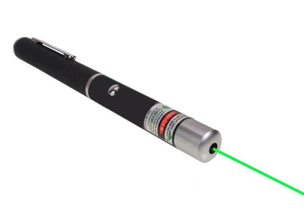 Green Laser Pointer, 532nm, Range to 3,000 Ft.