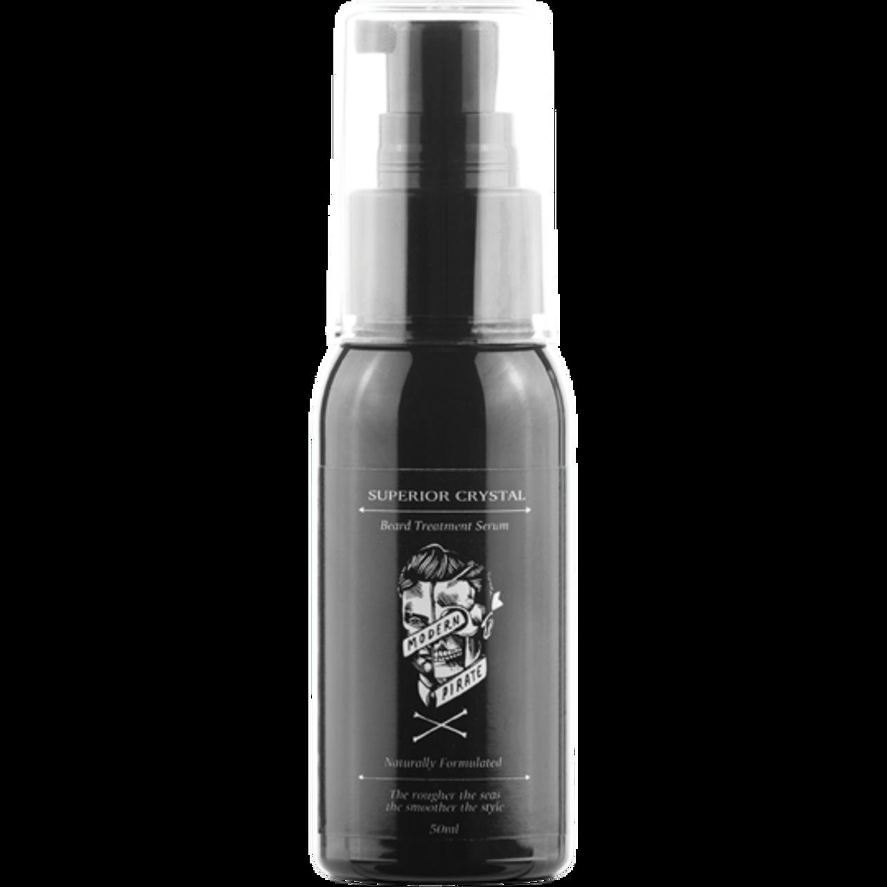 Modern Pirate Superior Crystal Beard Treatment Serum 50ml Hair Plus