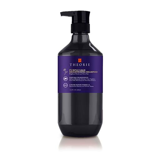 Theorie Purple Sage Brightening Shampoo 400ml