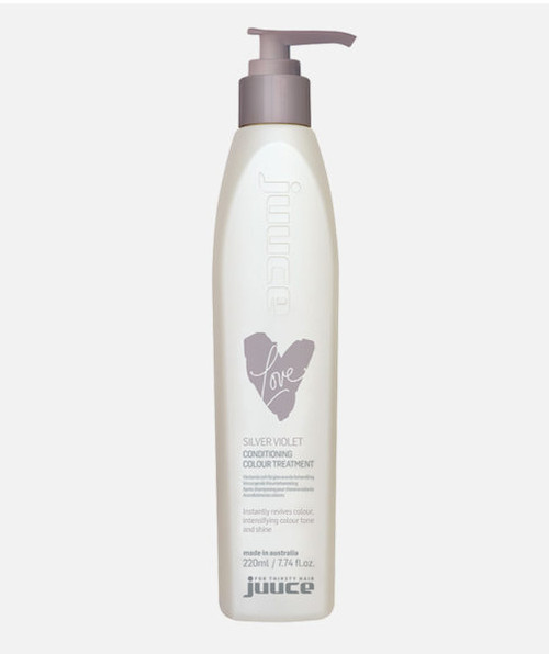 Juuce Silver Violet Coloured Conditioner 220ml