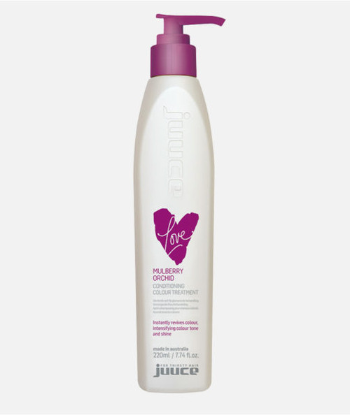 Juuce Mulberry Orchid Coloured Conditioner 220ml