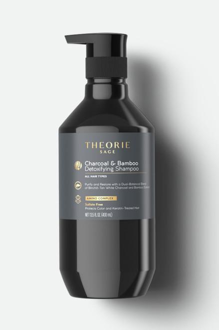 Theorie Charcoal & Bamboo Detoxifying Shampoo 400ml