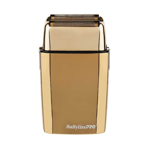 BaBylissPRO FoilFX02 Metal Double Foil Shaver - GOLD