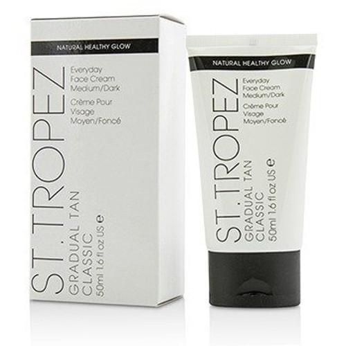 St. Tropez Gradual Tan Classic Everyday Face Cream 50ml - MED/DARK