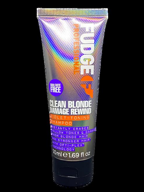 Fudge Clean BLONDE Damage Rewind Shampoo TRAVEL 50ml