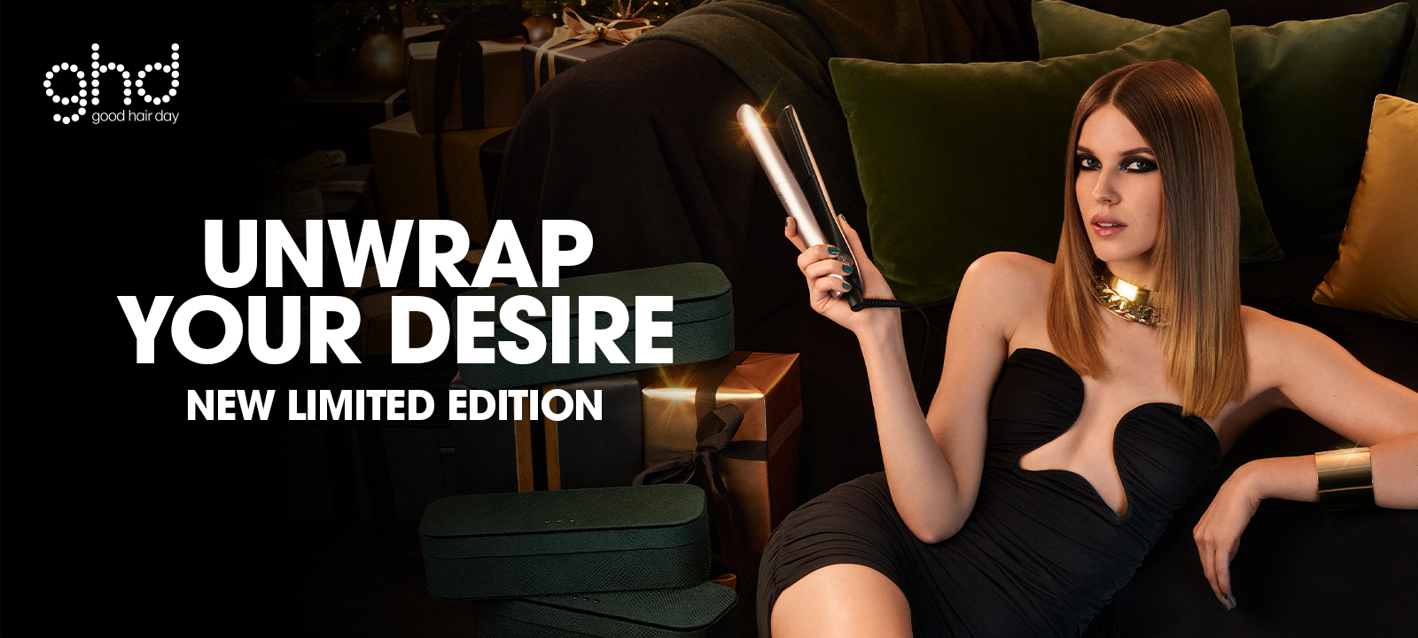 GHD Desire Collection Xmas Limited Edition