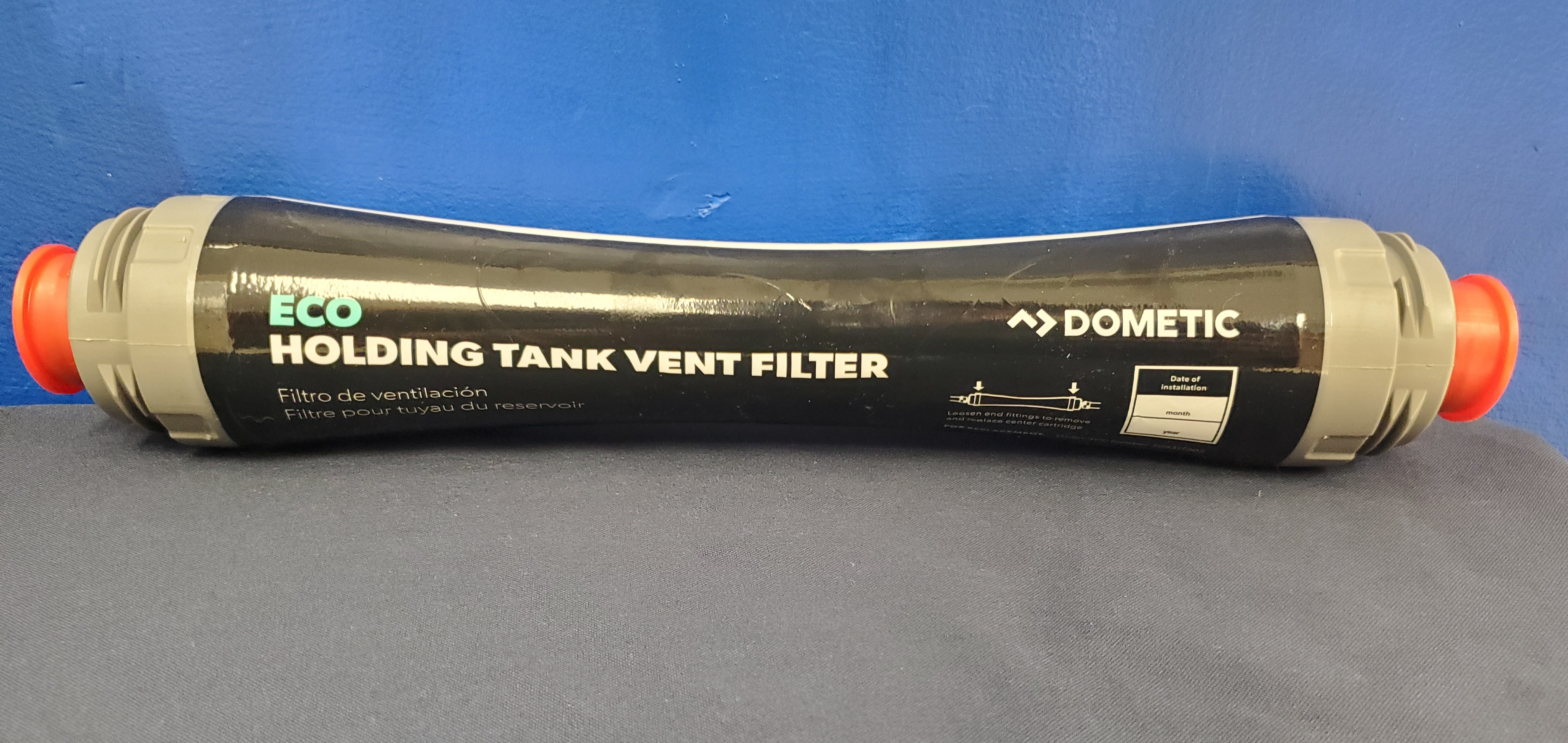 Dometic Sealand ECO Holding Tank Vent Filter w//Bracket /& Hardware