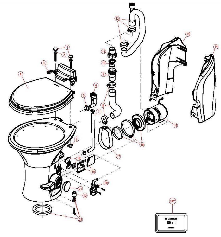 masterflush  masterflush part diagrams  7600 rv breakdown