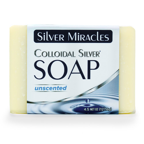 Silver Miracles Colloidal Silver Soap - 1 Bar
