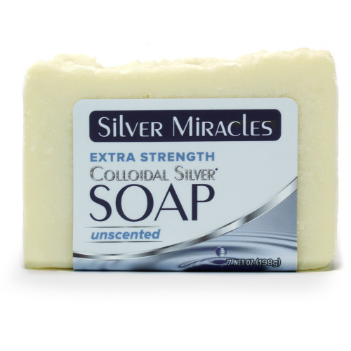 Silver Miracles Colloidal Silver Extra Strength Soap