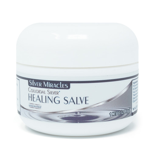 Colloidal Silver Healing Salve – 1 oz.
