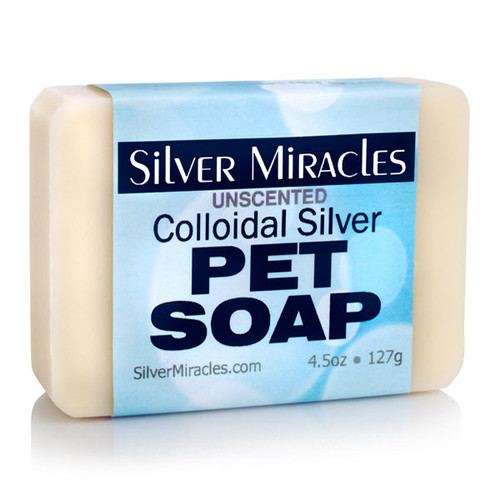 Silver Miracles Colloidal Silver Natural Pet Soap