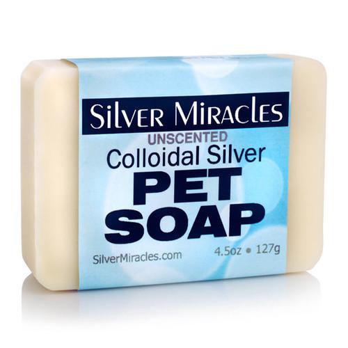Silver Miracles Colloidal Silver Natural Pet Soap