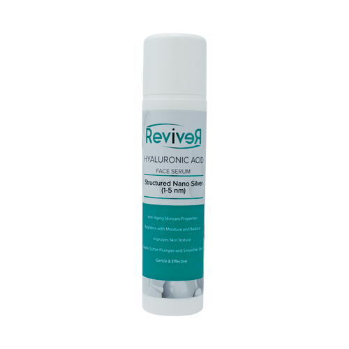 Reviver (By Silver Miracles) Colloidal Silver Hyaluronic Acid Face Serum