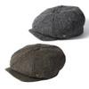 Failsworth Carloway 100% Wool Harris Tweed Newsboy Retro Cap