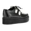 Womens Undercover Strummer Double Sole Rockabilly Creeper Shoe