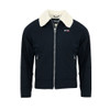 Mens Schott NYC OKLA Retro Sherpa Lined Flight Jacket