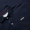 Mens Schott NYC PSJAMES2 Retro Logo Polo Shirt