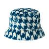 Womens Kangol Faux Fur Plush Bucket Hat