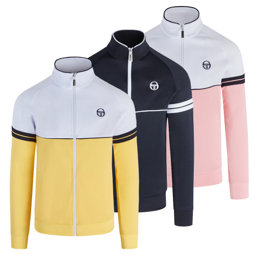 Mens Sergio Tacchini Orion Vintage 80s Track Top Jacket