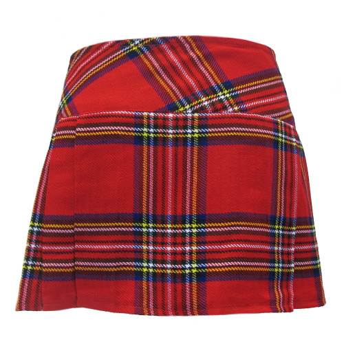 Viper London 13 Inch Micro Mini Kilt Skirt